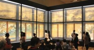 二条城の空間を再現した迫力ある展示