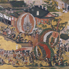 洛中洛外図屏風(舟木本)(部分)